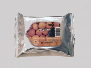 Apricot makeup tissue